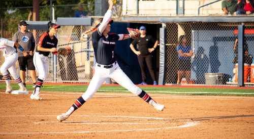 Softball pitcher Hailey Dolcini announced transfer out of Fresno State article thumbnail mt-3