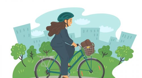 How Can I Bike Safely to Work? article thumbnail mt-3