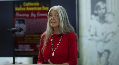 'Acorn Lady' honored at Native American Day article thumbnail mt-3