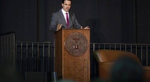 Robert Costa talks impeachment, 2020 election during President's Lecture Series article thumbnail mt-3