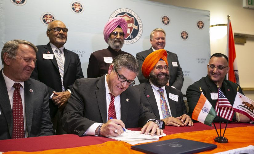 Fresno State collaborates with Punjab university, address ag issues article thumbnail