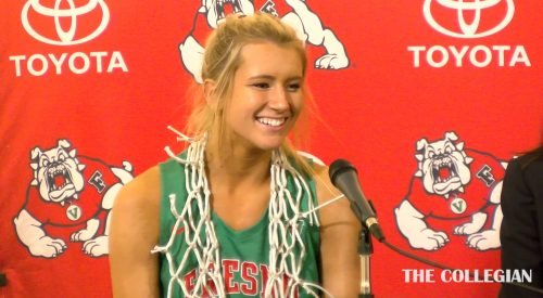 Post-game conference: Fresno State's Maddi Utti after San Jose State win article thumbnail mt-3