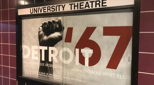 Theatre department streams second production in 'Detroit '67' article thumbnail mt-2