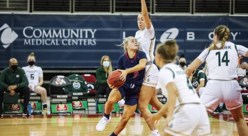 Women's Basketball drops first conference game of the year article thumbnail mt-3