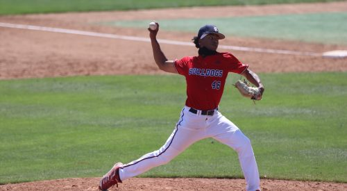 Fresno State baseball splits doubleheader with San Diego State article thumbnail mt-3