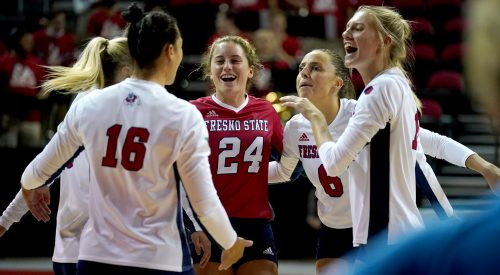 Fresno State volleyball defeats Colorado State in conference home opener article thumbnail mt-2