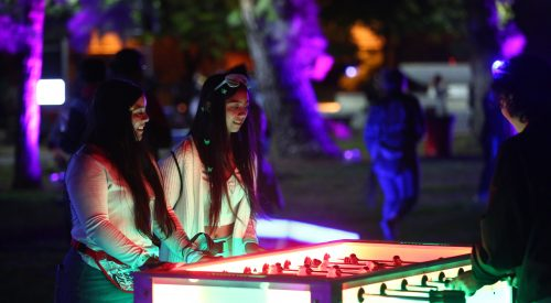 'Let's Glow Crazy' celebrates the end of homecoming week article thumbnail