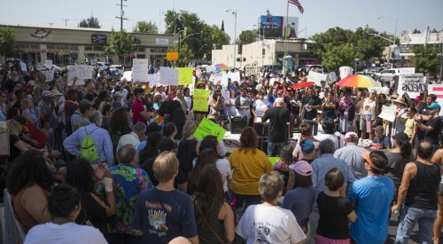 Rallying through peace, Fresno State protesters stand against hate article thumbnail mt-3